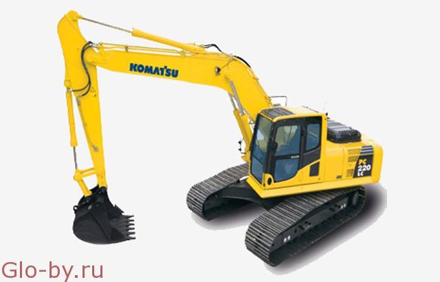 Сдается в аренду Экскаватор гусеничный полноповоротный 1 м*3 Komatsu 220