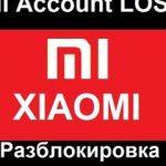 Сервисная авторизация Xiaomi Account EDL Authorization
