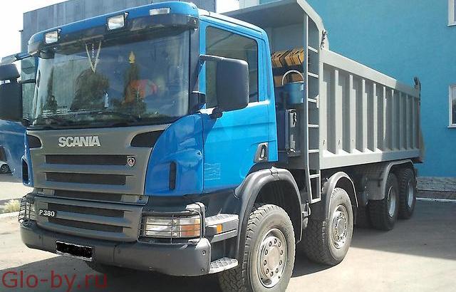 Сдается в аренду Самосвал 25 т. Scania 380