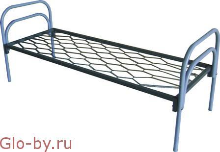 Кровати металлические одноярусные, для бытовок