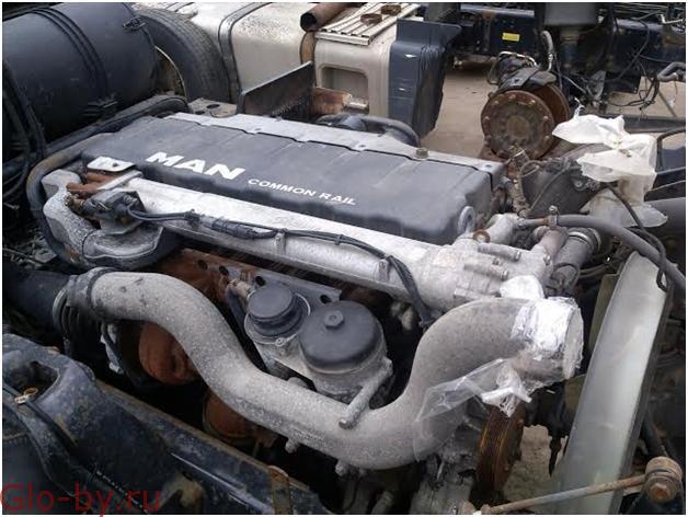 Двигатели б/у для грузовиков MAN TGA