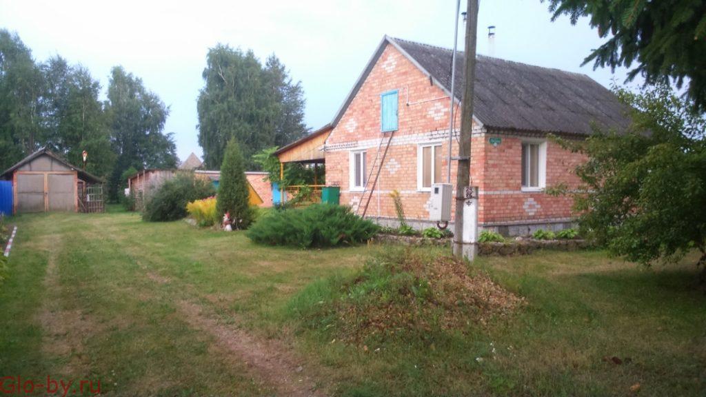 Дом-дача на берегу озера в Беларуси. Обмен.