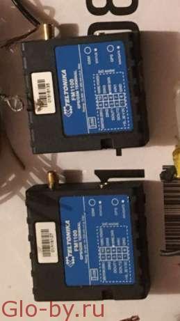 Комплект GPS трекер teltonika FM1100