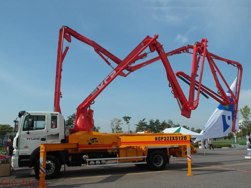 Сдается в аренду Автобетононасос 32 метра KCP 32ZX5120