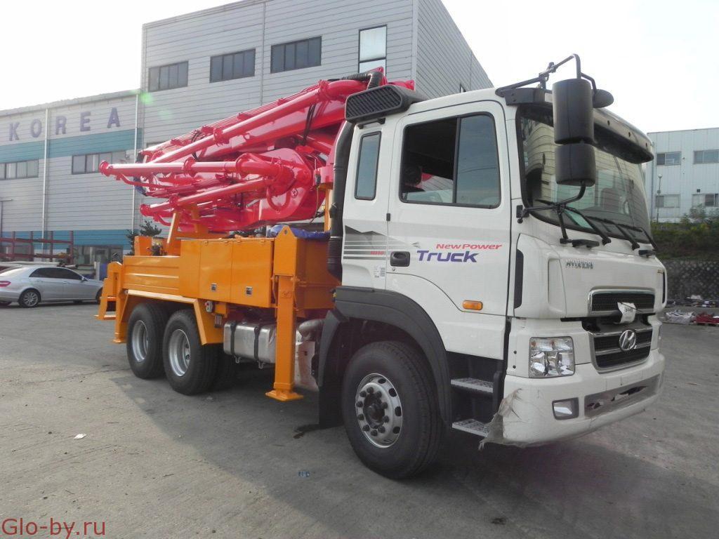 Сдается в аренду Автобетононасос 36 метра KCP 37RX170