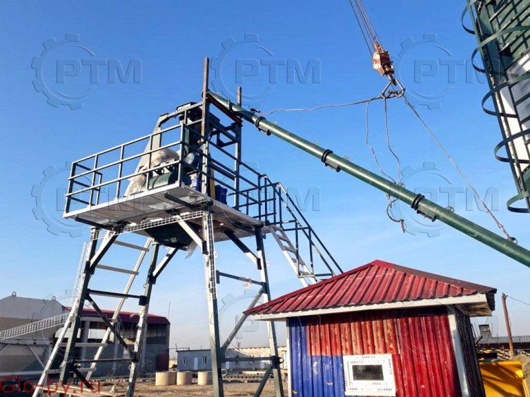 Скиповый бетонный завод RTM