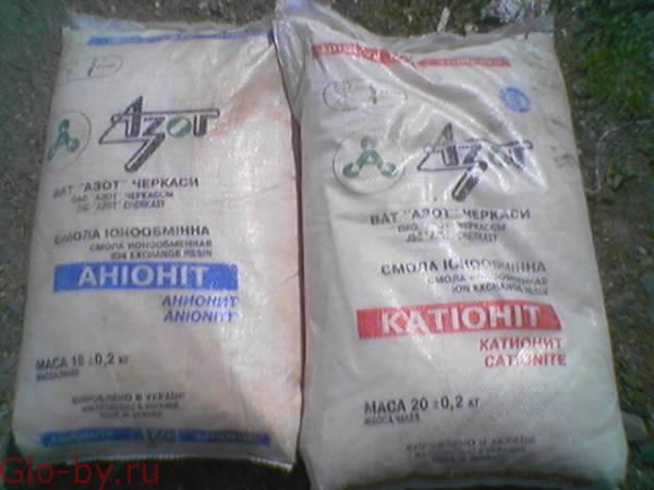 Покупаем смолы импортного производства Катионит Анионит