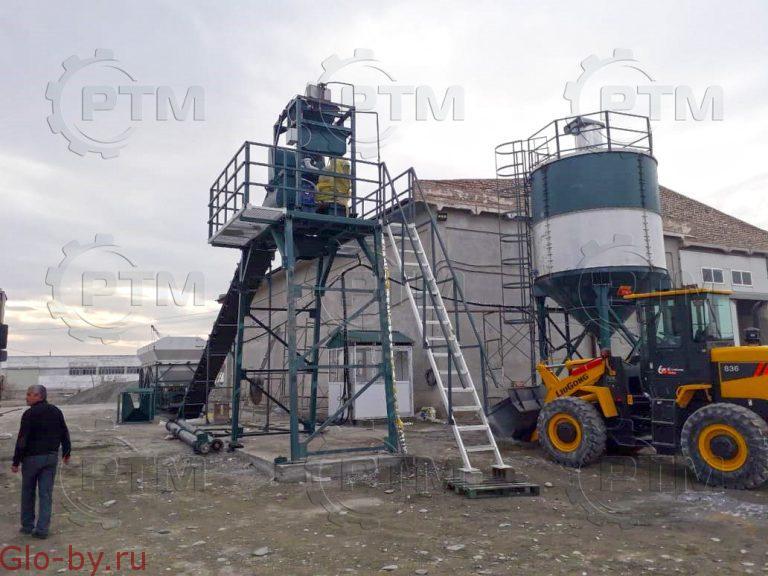 Ленточный бетонный завод RTM