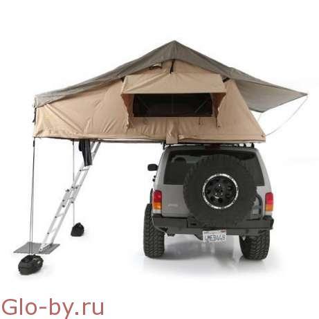 Палатка для крепления на багажнике