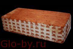 Кирпич (керамический) рядовой пустотелый(полнотелый)
