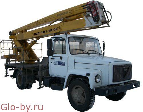 Сдается в аренду Автовышка 18 м. Коленчатая ЗИЛ-433362 ПСС-121.18