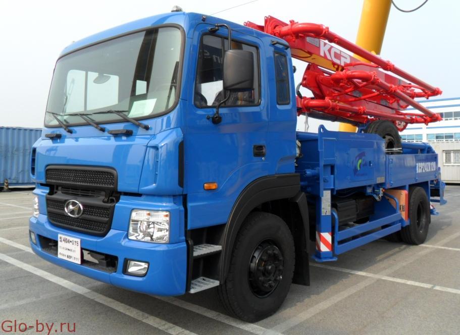 Сдается в аренду Автобетононасос 24 метра KCP 26ZX100