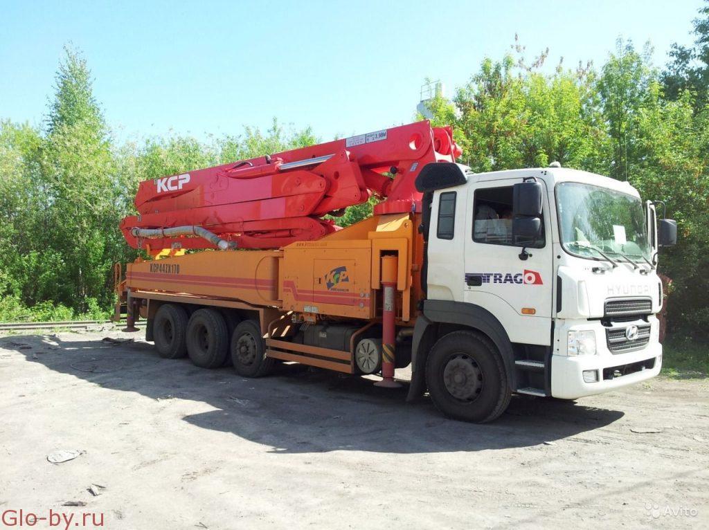 Сдается в аренду Автобетононасос 42 метра KCP 44ZX170