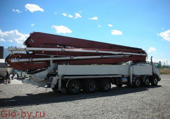 Сдается в аренду Автобетононасос 60 метров KCP 63ZS225