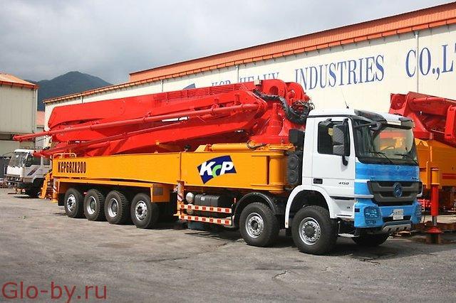 Сдается в аренду Автобетононасос 65 метров KCP 68ZS225