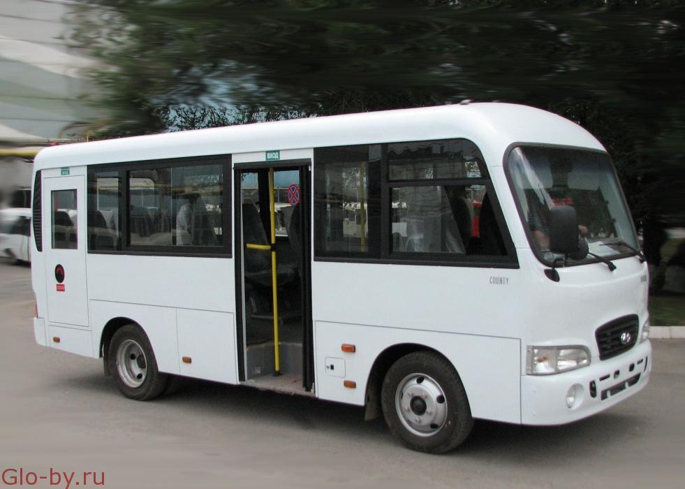 Сдается в аренду Миниавтобус Hyundai County
