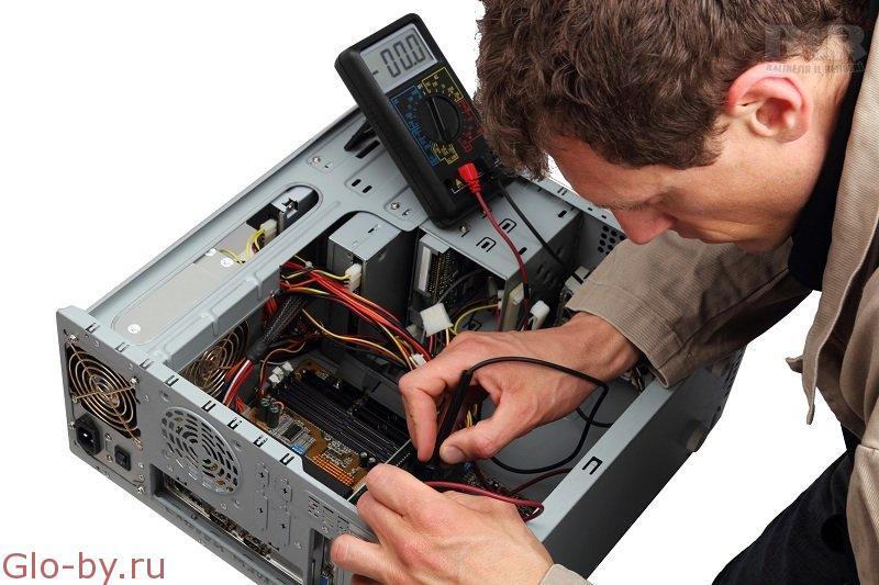 Ремонт и обслуживание компьютеров.