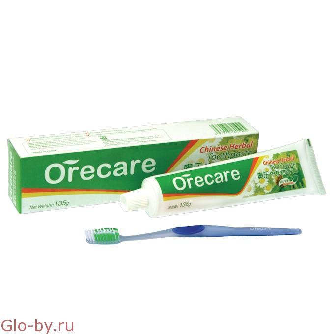 Зубная паста с целебными травами для чувствительных зубов